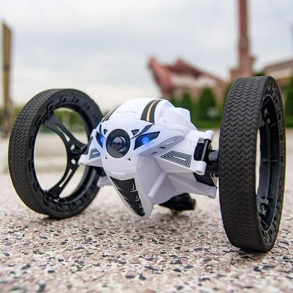 彈跳遙控車越野車充電遙控汽車兒童玩具男孩玩具車賽車電動大腳車【快速出貨】