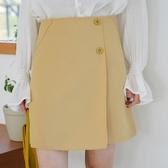 2020春夏新款chic港味小個子半身裙女高腰顯瘦學生百搭A字包臀裙