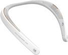 SHARP【日本代購】夏普 穿戴式頸帶無線耳機 揚聲器 支持 bluetoo -AN-SS1 - 白