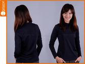 WildLand 女長袖保暖T恤-黑(遠紅外線≡排汗專家≡