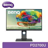 【免運費】BenQ 明基 PD2700U 27型 4K HDR IPS 專業顯示器 廣視角 內建喇叭 低藍光 不閃屏