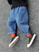 牛仔褲童裝男童牛仔褲春秋兒童褲子外穿休閒寶寶春裝寬松小童春款2020潮 新品