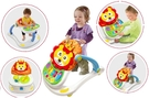 *幼之圓* 超級四合一多功能手推車助步車~是學步車也是遊戲台~還可以當餐桌~超實用