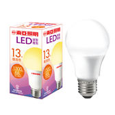 東亞 LED球型燈泡-黃光(13W)【愛買】