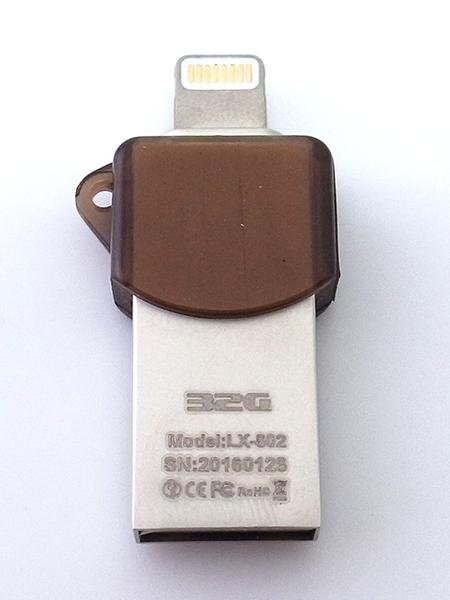 iDrive LX-602 32GB/32G 隨身碟 Apple Lightning(8 pin)/USB 兩用 iPod/iphone/iPad/電腦用 SE 2020/SE2 超迷你
