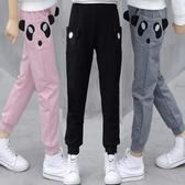 童裝女童休閒褲夏季薄款寬鬆洋氣5韓版7兒童長褲子9中大童12-15歲 滿天星