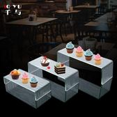 亞克力三層壽司架點心架蛋糕盤自助餐
