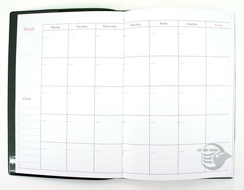 USE ME 32K 月 / 週間日記手帳「紅」三瑩 SUNNY (SFS-33D)【金玉堂文具】