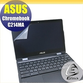 【Ezstick】ASUS Chromebook C214 C214MA 靜電式筆電LCD液晶螢幕貼 (可選鏡面或霧面)