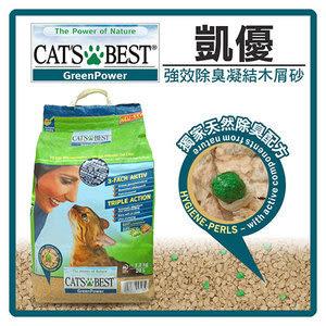 CAT`S BEST 強效除臭凝結木屑砂(黑標)20L (G142A06)