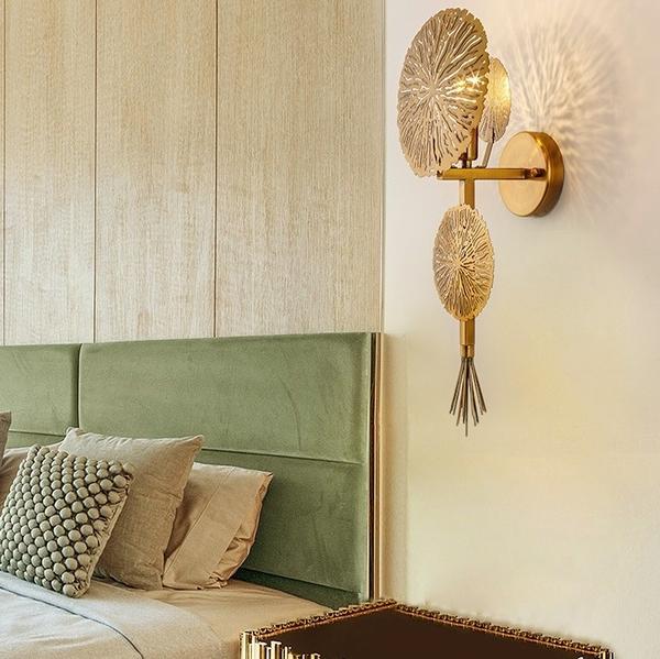 後現代壁燈【旭日東昇】中國風LED藝術裝飾壁燈臥室客廳樓梯走廊飯店民宿
