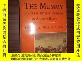 二手書博民逛書店THE罕見MUMMY ERNEST A.WALLIS BUDGE