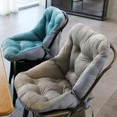 限定款坐墊辦公室坐墊夏季椅子靠墊一體四季通用學生凳子軟墊子加厚連體椅墊