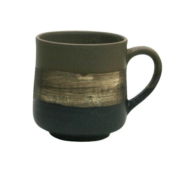 【日本製】日本製墨色 陶製馬克杯 褐色 SD-6301 - 日本製 陶製馬克杯