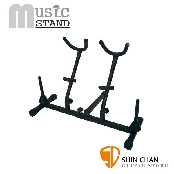 Music Stand SA03 中音/次中音薩克斯風/豎笛/長笛 四支架  台灣製