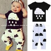 嬰兒短袖套裝  短袖上衣+長褲二件式童裝 SK170 好娃娃