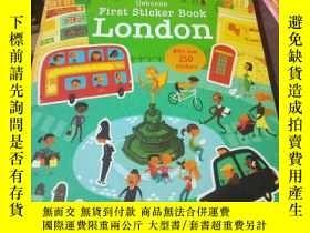 二手書博民逛書店First罕見Sticker Book LondonY15389