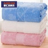 老式毛巾被純棉毯子單雙人全棉毛毯季薄紗布被子空調毯毛巾毯   青木鋪子