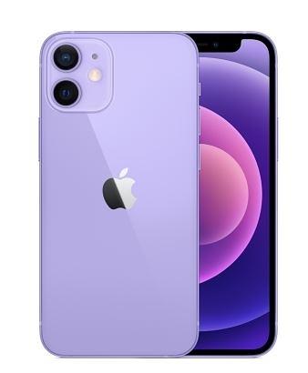 【新登場紫色預購】蘋果 i12 iPhone12 MINI 64GB 5.4吋 首款5G 防水防塵 高雄晶豪泰