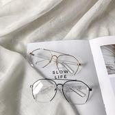 日繫學生平光鏡港風情侶款男士休閑配飾眼鏡【聚寶屋】