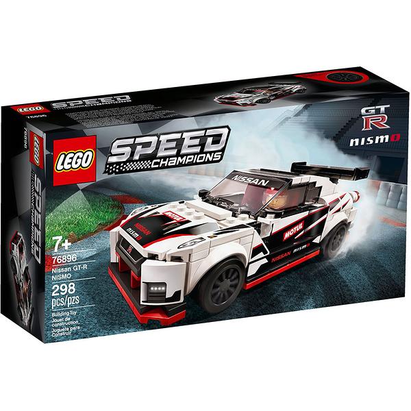 樂高積木 LEGO《 LT76896 》SPEED CHAMPIONS 系列 - Nissan GT-R NISMO╭★ JOYBUS玩具百貨