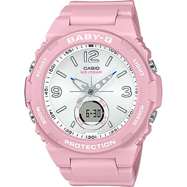 CASIO 卡西歐 BABY-G 戶外清新百搭手錶 BGA-260SC-4A