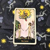 塔羅牌星盤占星占卜專用經典塔羅的偉特塔羅牌事業牌感情牌 歐韓流行館