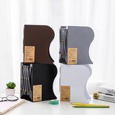 可伸縮書立架大號折疊書夾書靠書檔簡易學生創意高中桌上加厚書架 YDL