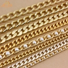 包包鍊條 包包鍊條配件飾品包包鍊子腰鍊側背金屬鍊條肩帶書包鍊鋁質單買 晶彩