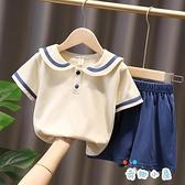 女童夏季套裝兒童短袖寶寶運動休閒【奇趣小屋】