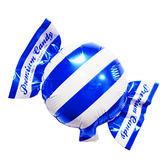 18吋鋁箔氣球(不含氣)-糖果-藍