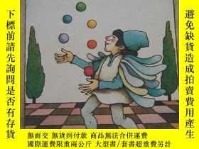二手書博民逛書店THE罕見CLOWN OF GOD(上帝的小丑)【世界童話.圖文