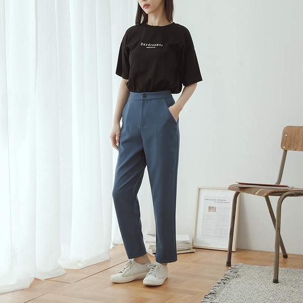 Queen Shop【04030303】質感修身九分西裝褲 三色售 S/M/L*現+預*