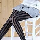 輕薄透膚型 浮雕直線條紋彈性褲襪 雜誌款 《絲襪/造型襪》