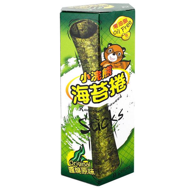 泰國 TAWANDANG 小浣熊 海苔捲 24g 紙盒 【美日多多】