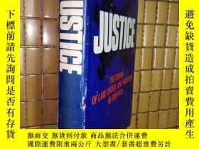 二手書博民逛書店JUSTICE【精裝本罕見毛邊書】Y186213 RICHARD
