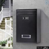 信箱 密碼鎖小信箱報箱 室外防水防銹鐵藝牛奶箱歐式意見箱郵箱投訴箱