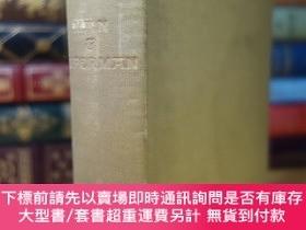 二手書博民逛書店1912年版罕見蕭伯納的哲理喜劇人與超人 Man and superman 精裝毛邊 書頂刷金Y35404
