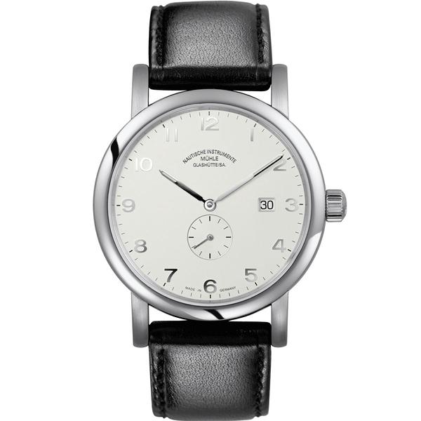 ★德國高級腕錶品牌★格拉蘇蒂-莫勒Muehle-Glashuette Classical-M1-39-15-LB-錶現精品-原廠正貨