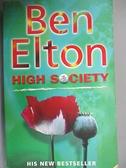【書寶二手書T3/原文小說_CVN】High Society_Elton, Ben