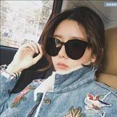 新款太陽鏡女  款墨鏡韓國個性大框圓臉男黑色開車眼鏡  凱斯盾數位3C