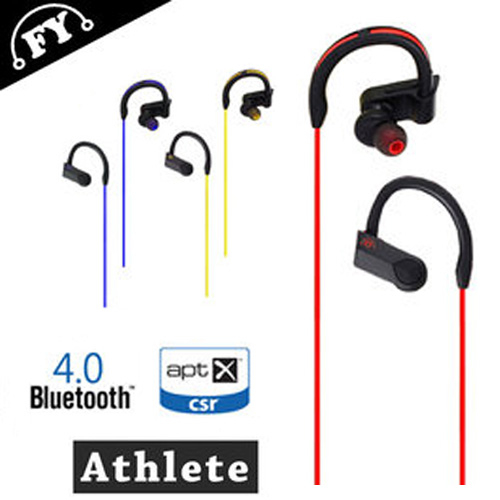 防水防汗後掛式運動專用藍牙耳機(Athlete) 可與iPad Air2/iPhone6/6 Plus/i7/7Plus搭配使用