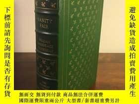 二手書博民逛書店【包罕見】Vanity Fair,《名利場》,William M