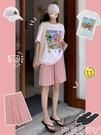 短褲冰絲闊腿短褲女夏寬鬆2021年新款高腰直筒港味中褲休閒五分褲薄款嬡孕哺