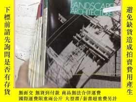 二手書博民逛書店LANDSCAPE罕見ARCHITECTURE 1994 風景園