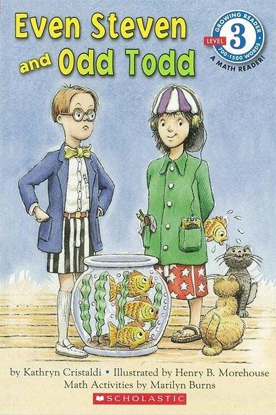 Scholastic Reader Level 3:Even Steve and Odd Todd