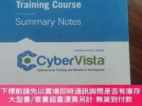 二手書博民逛書店CyberVista罕見CEH Training Course Summary NotesY420321 ha