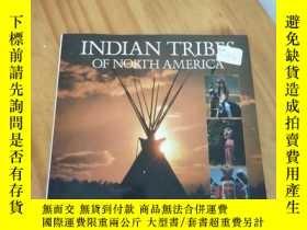 二手書博民逛書店INDIAN罕見TRIBES OF NORTH AMERICA(