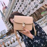 小方包 夏天女包包新款韓版box豆腐包鎖扣小方包百搭單肩斜挎包小包 唯伊時尚