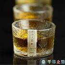 石塚硝子日式茶杯水晶錘紋耐熱玻璃杯茶杯藏鳥款茶器【千尋之旅】